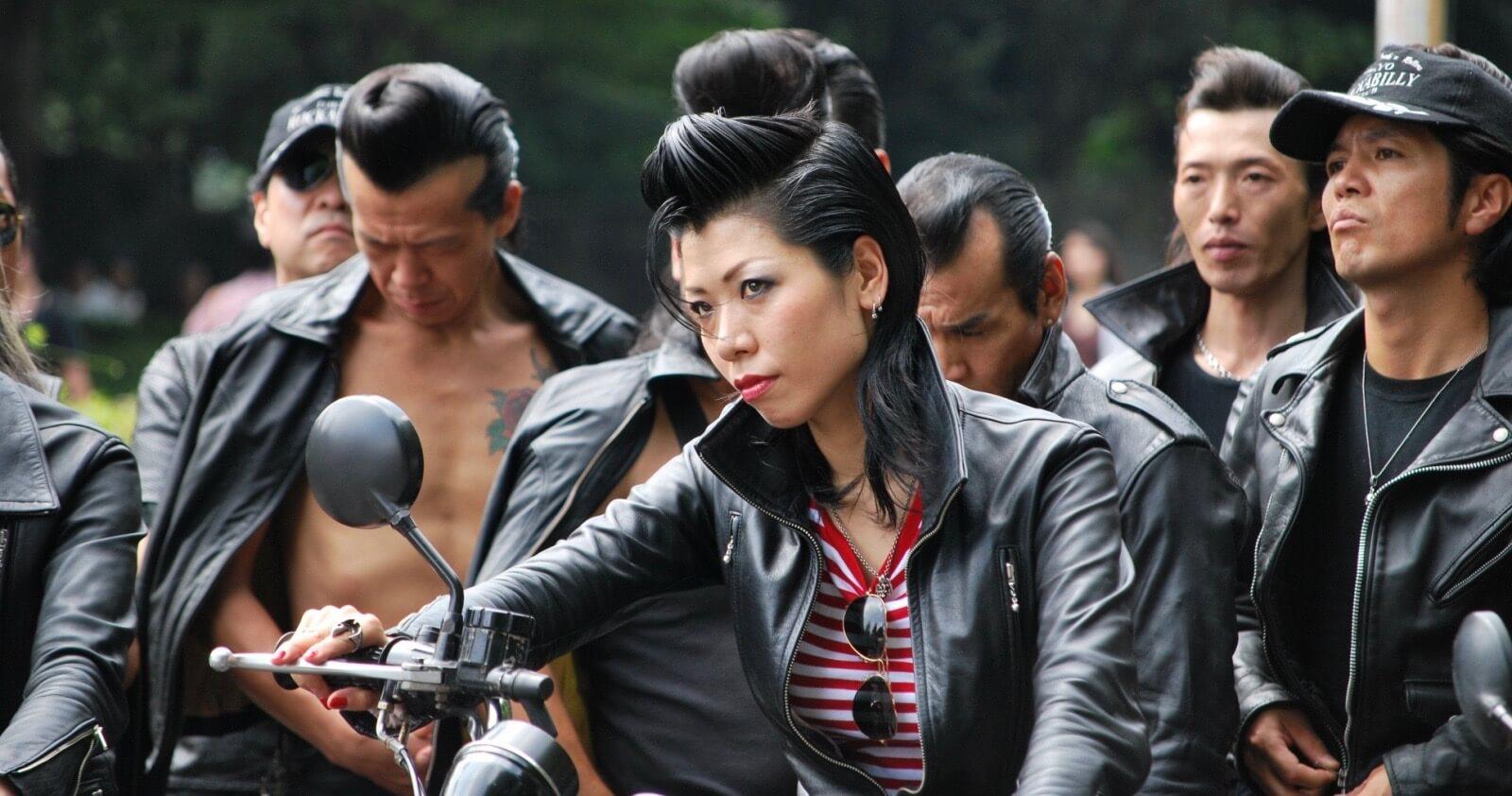 bandas de moteros japonesas - bosozoku! - gentleman's pride